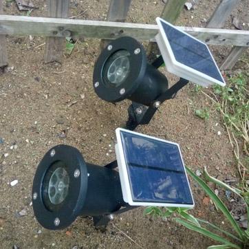 Solar-jouluprojektori Light